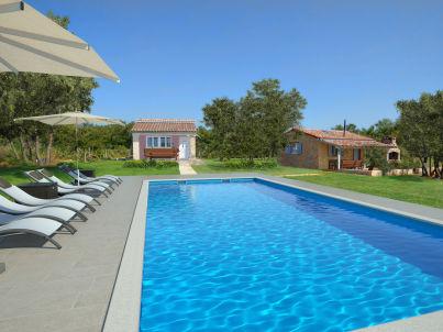 Mamesa Haus mit Pool in Rovinj