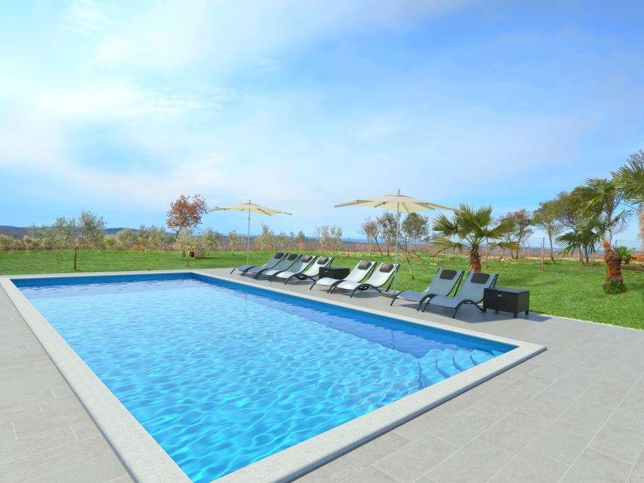 ferienhaus mamesa haus mit pool in rovinj istrien firma. Black Bedroom Furniture Sets. Home Design Ideas