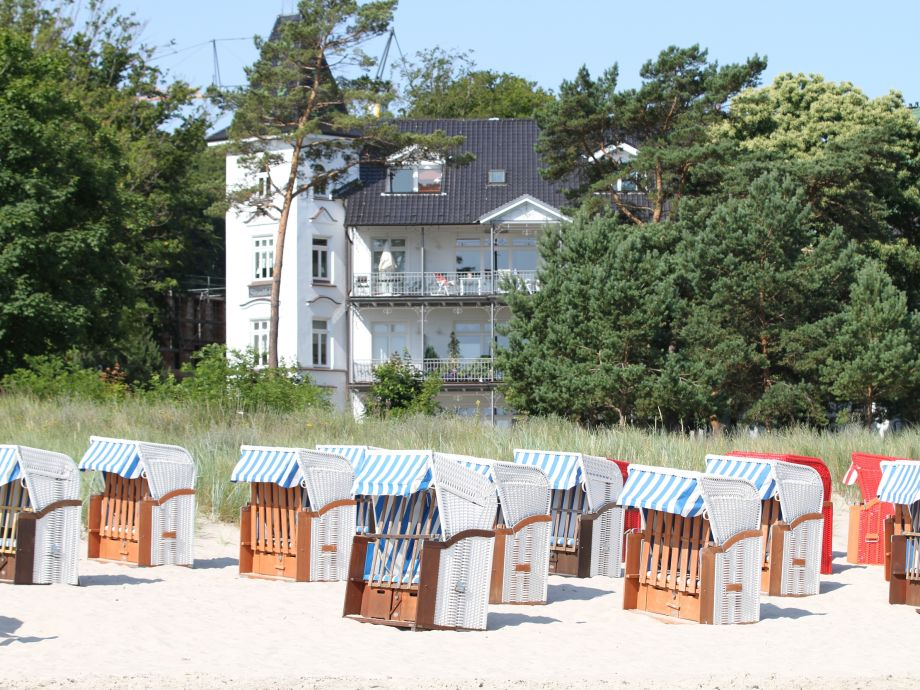 Die Villa Stranddistel in Binz