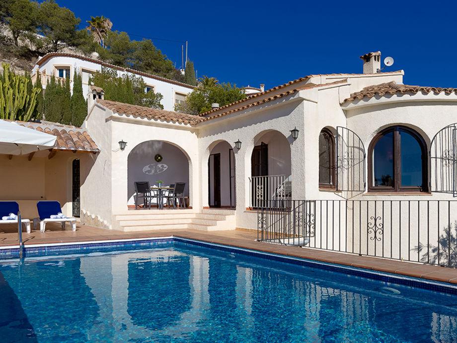 Die schöne Villa mit Pool