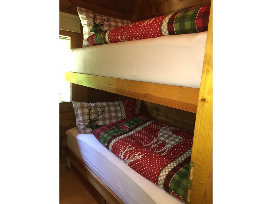 Sclafzimmer mit Stockbett