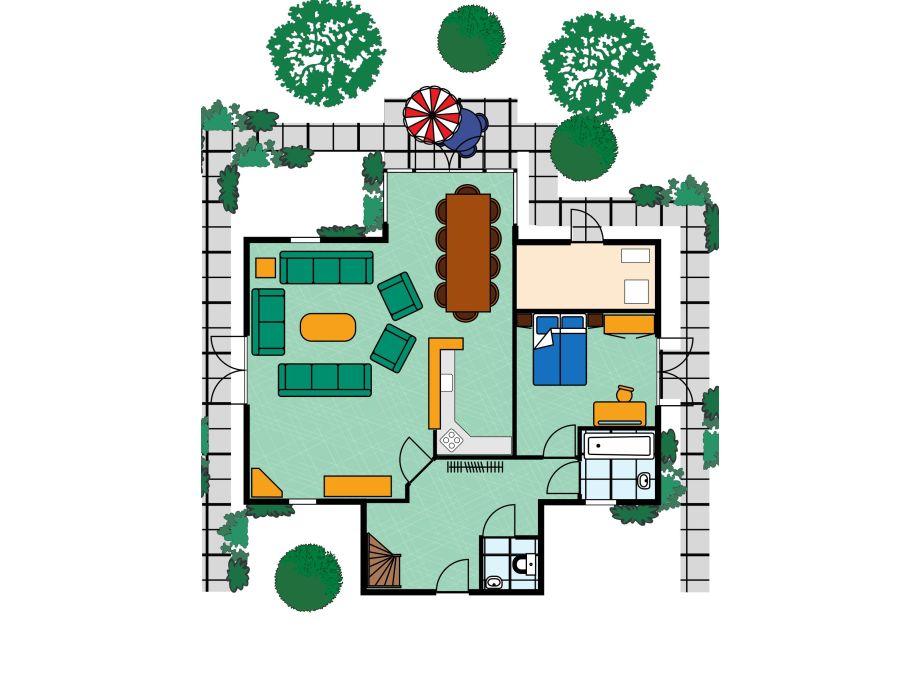 Traumvilla grundriss  Villa Sejama, Zeeland, Kamperland - Herr Wolfgang Cornelsen