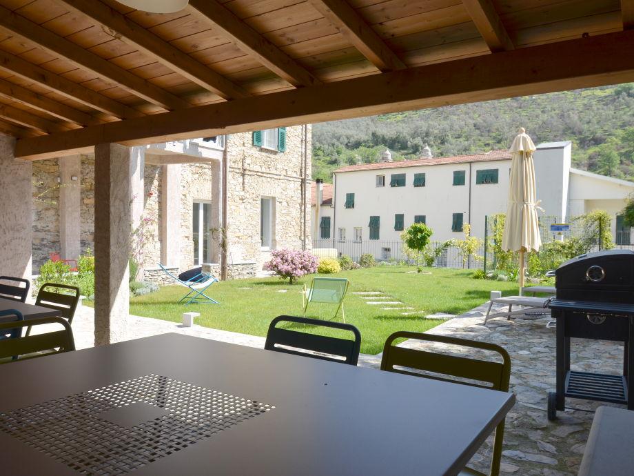 Garten der Casa del Notaio