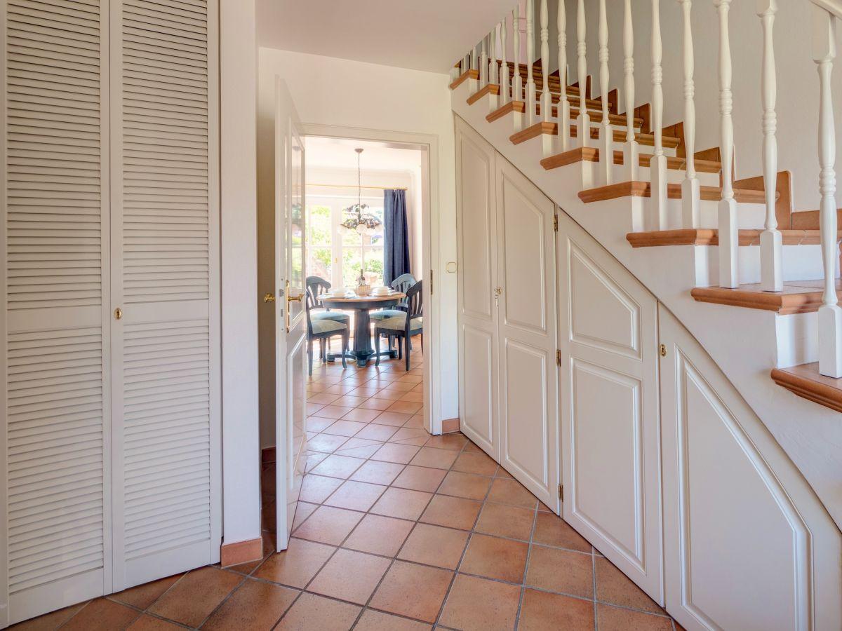 Ferienhaus california dream kieler bucht sch nberg for Garderobe treppe