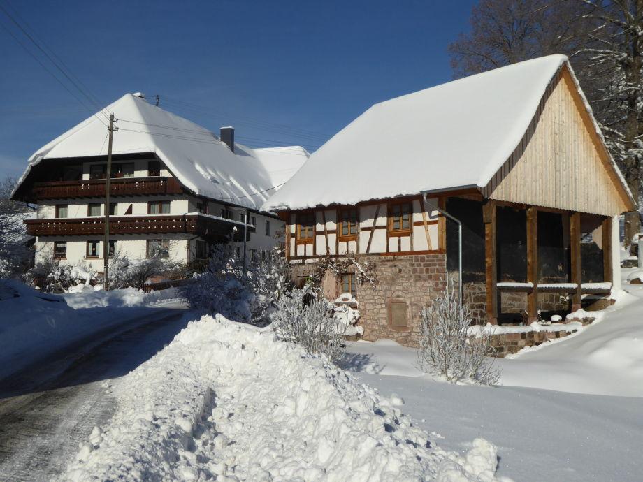Eichbachmühle im Winter