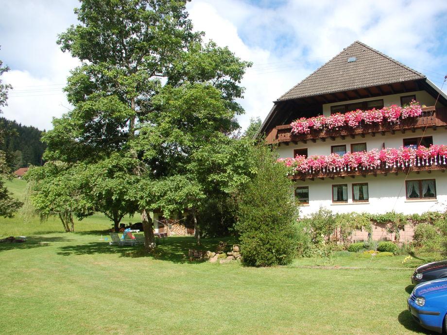 Eichbachmühle mit Garten