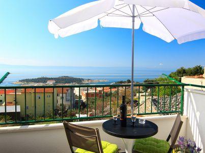 Romantisches Ferienhaus in Makarska mit Meerblick