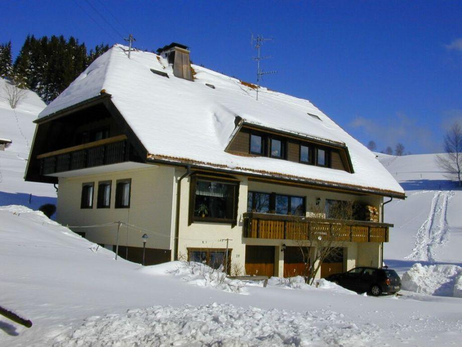 Haus Gisela im Winter
