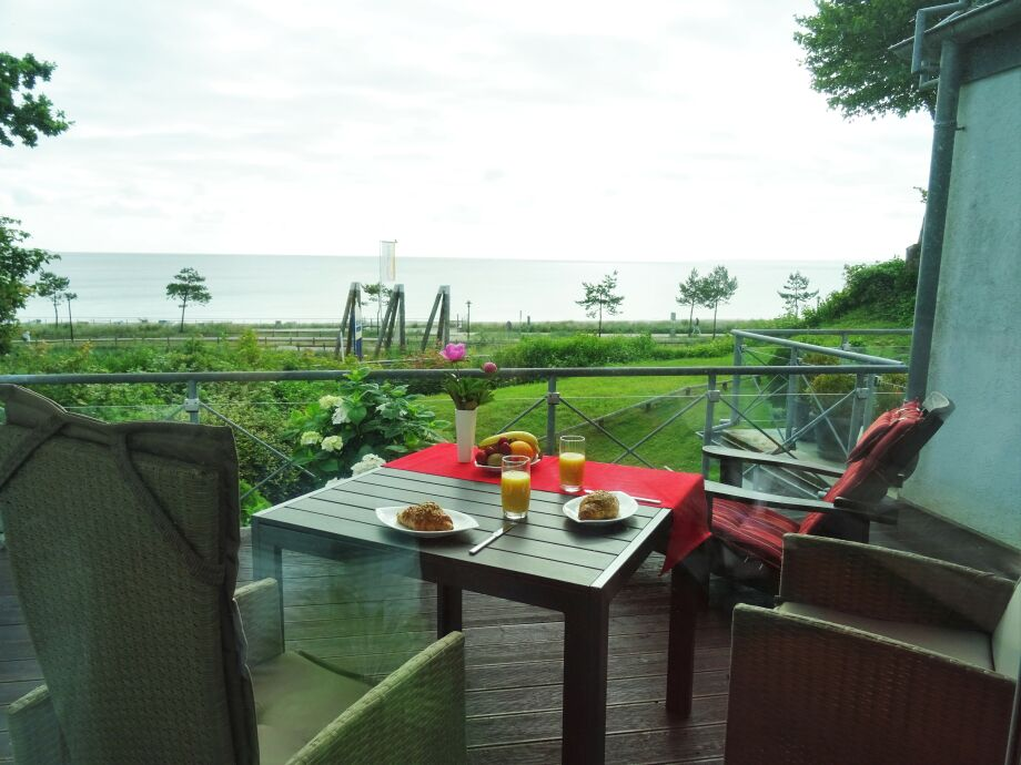 Terrasse zum Meer