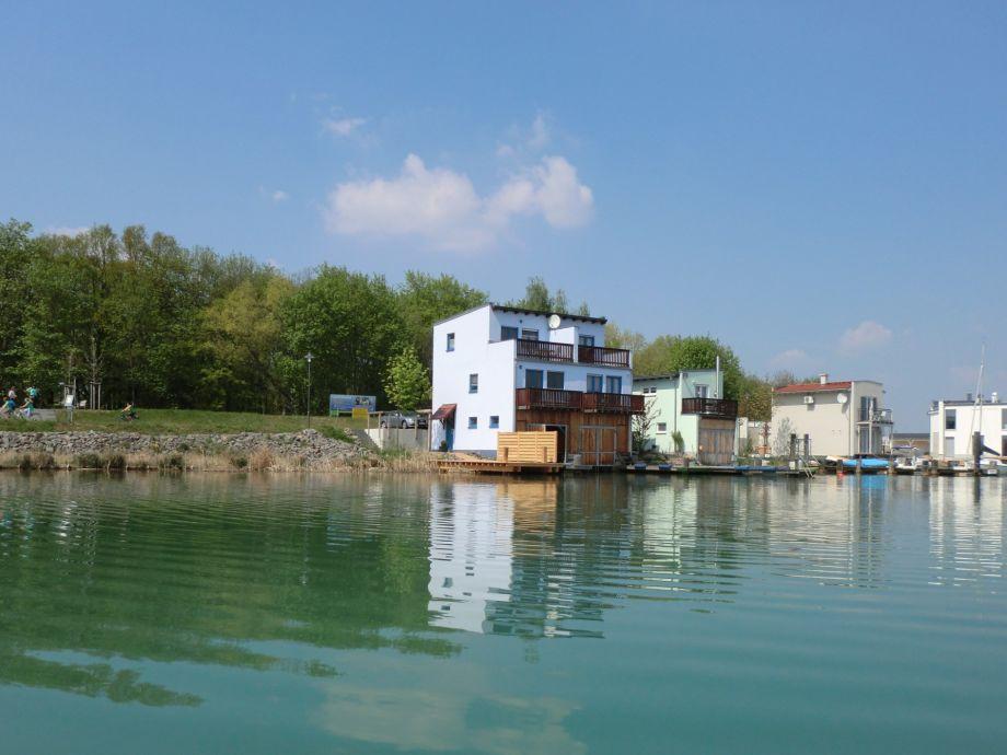 Ferienhaus Seepferdchen mit Boot