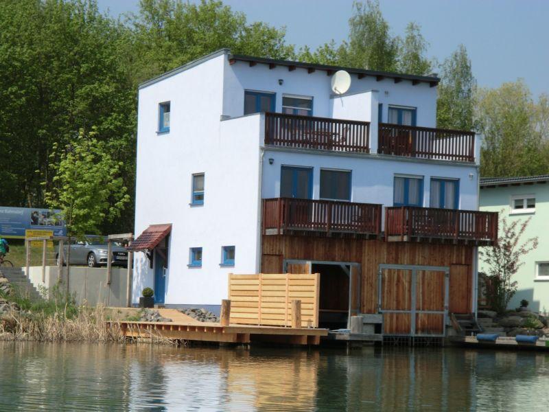 Ferienhaus Seepferdchen Hainer See mit Boot