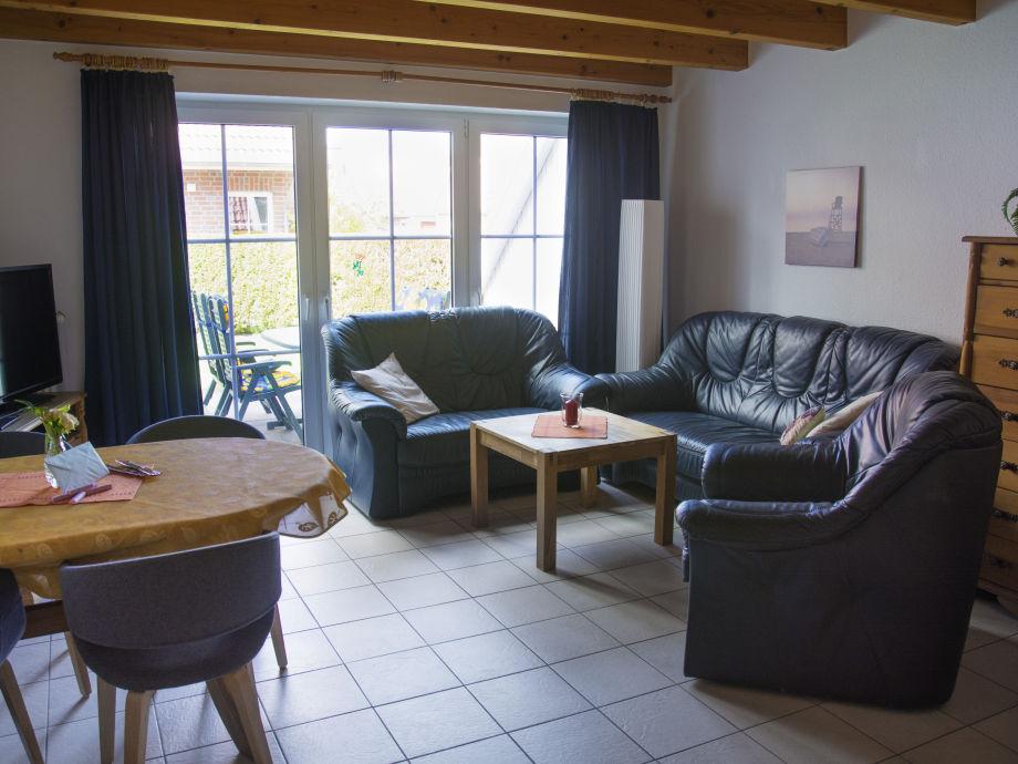 Wohnzimmer mit Relaxsofa , Wlan und Flat TV