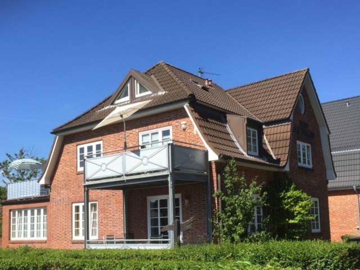 Ferienwohnung Badestr Haus am Walde OG Wyk auf Föhr