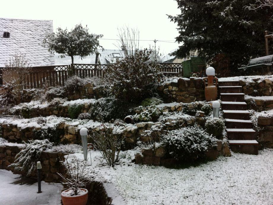 Winterbild Garten