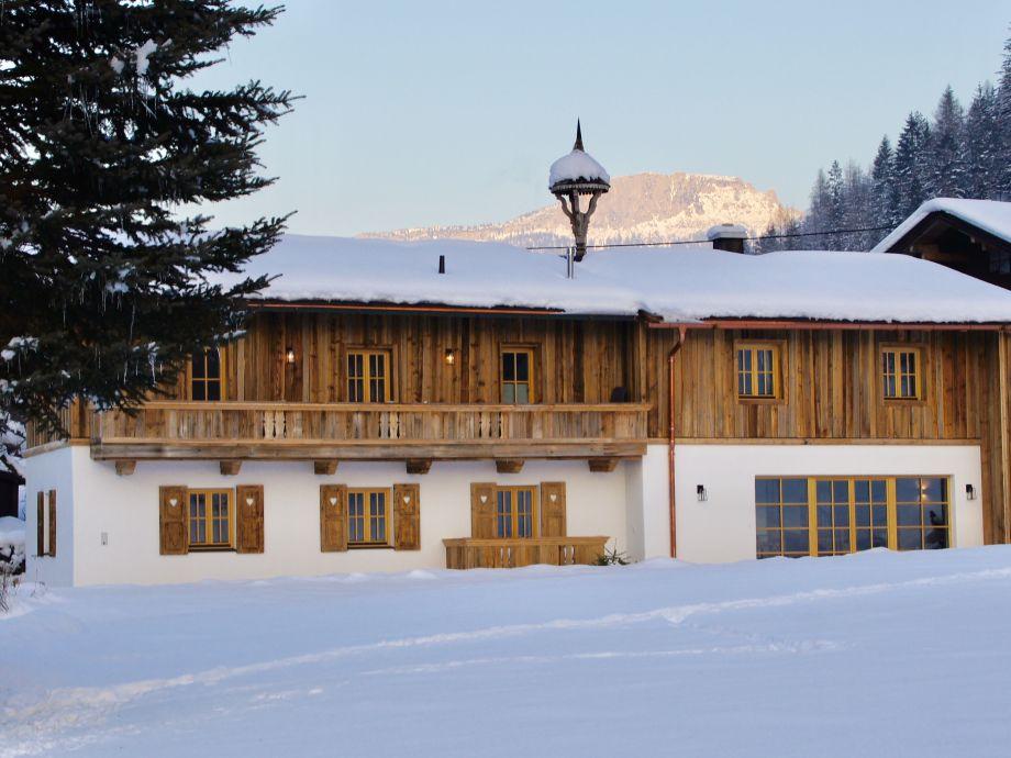 Ein luxuriöses Tiroler Bauernhaus