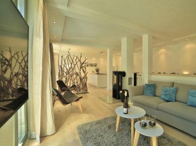"""Strandlounge in der """"Villa Amalie"""""""
