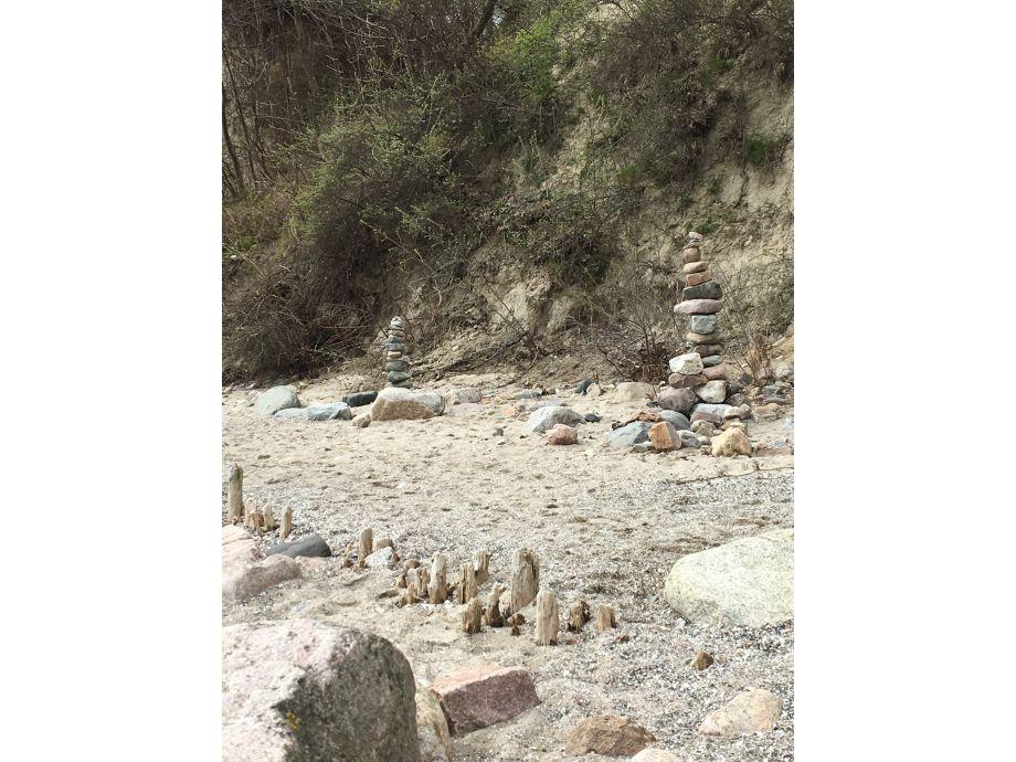 steilküste am strand bei uns richtung grömitz
