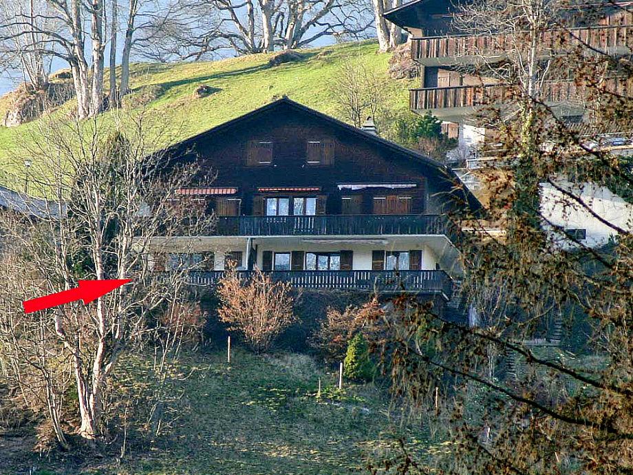 """Außenaufnahme Grindelwald, Chalet """"Sunnehöckli"""""""