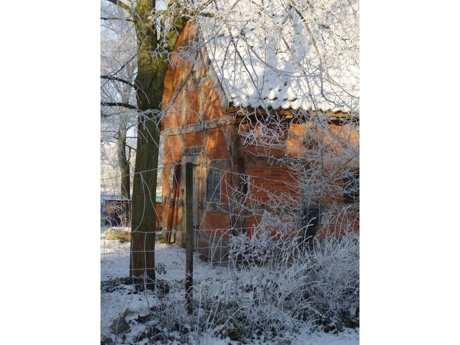 Altes Backhaus auf unserem Hof.