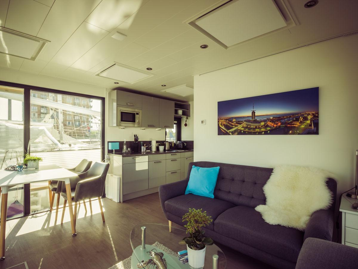 hausboot bremerhaven nordsee firma husboat erleben gbr. Black Bedroom Furniture Sets. Home Design Ideas