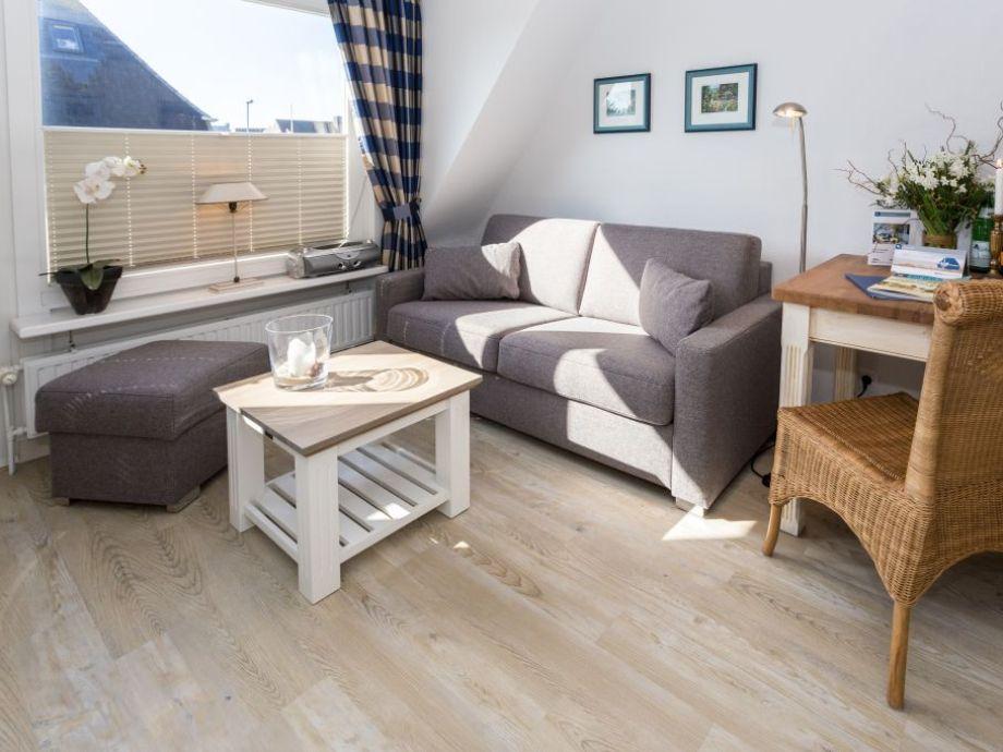 Ausstattung Ferienwohnung 8 im Haus Norderstraße 61 (KÖNIG SYLT, HNS/08)