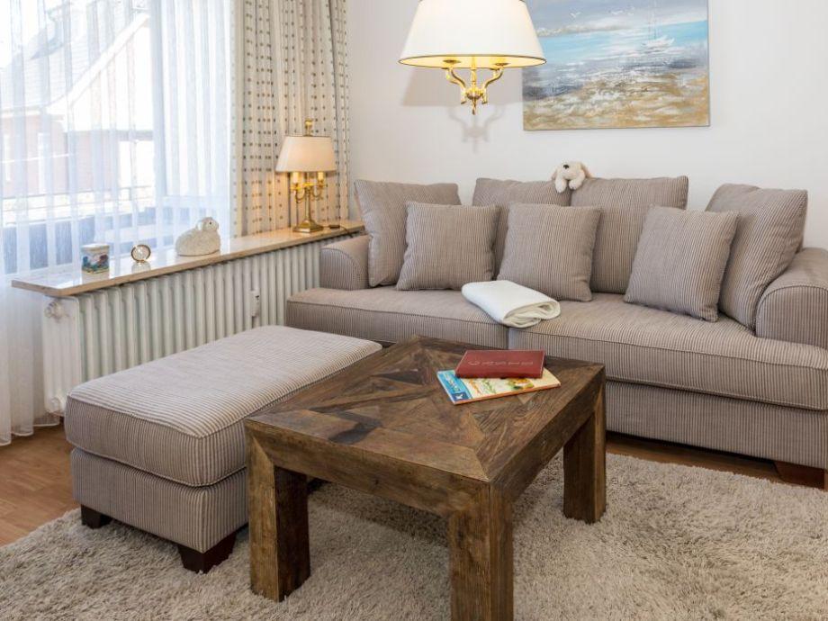 Ausstattung Ferienwohnung 14 im Haus Käpt'n-Christiansen-Str. 30 (KÖNIG SYLT, KCW/14)
