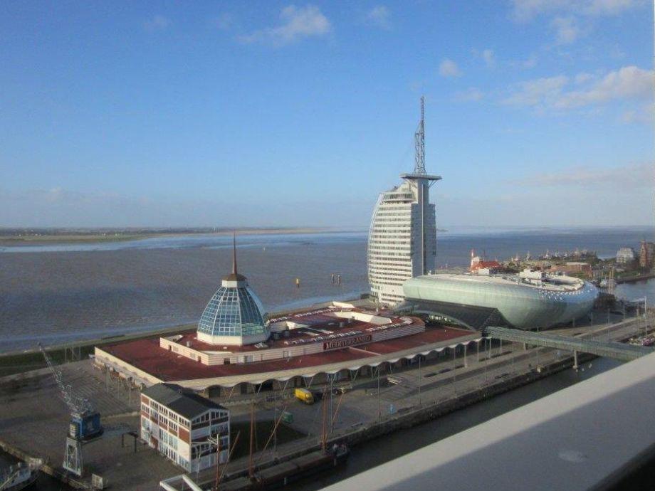 Außenaufnahme Columbuscenter App Weserpanorama