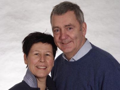 Ihr Gastgeber Dagmar und Peter Reiser
