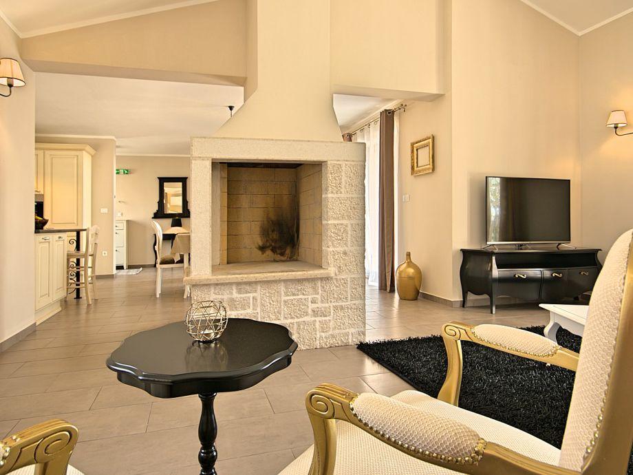 Kamin Im Wohnzimmer Kosten : Villa Anteva, Fuskulin, Porec, Istrien ...