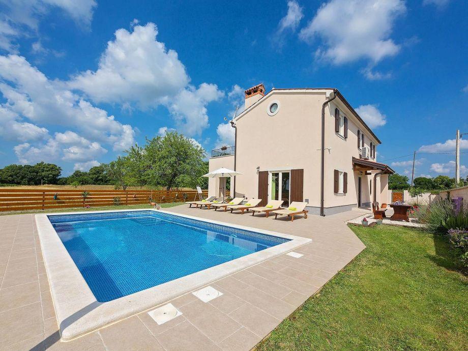 Villa Cicibella mit Pool und abgeschlossene Grundstück