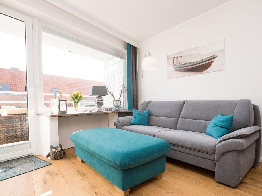top moderner, heller Wohnraum
