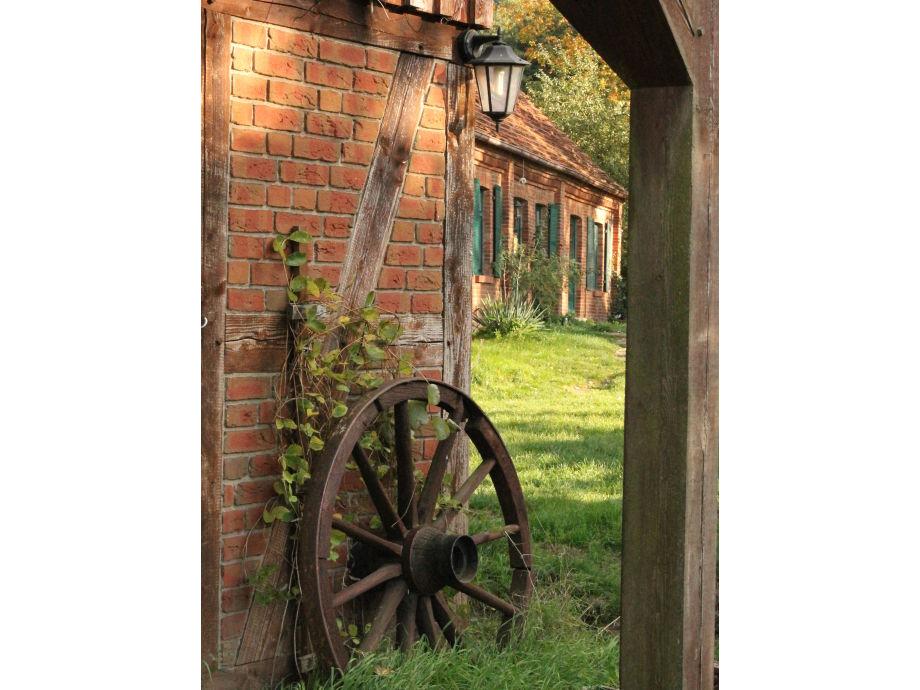 Blick auf die Wassermühle