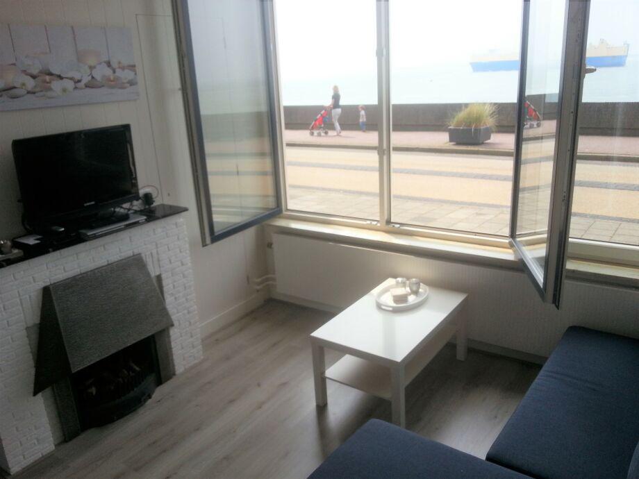 Blick vom Apartment (Meerblick!)