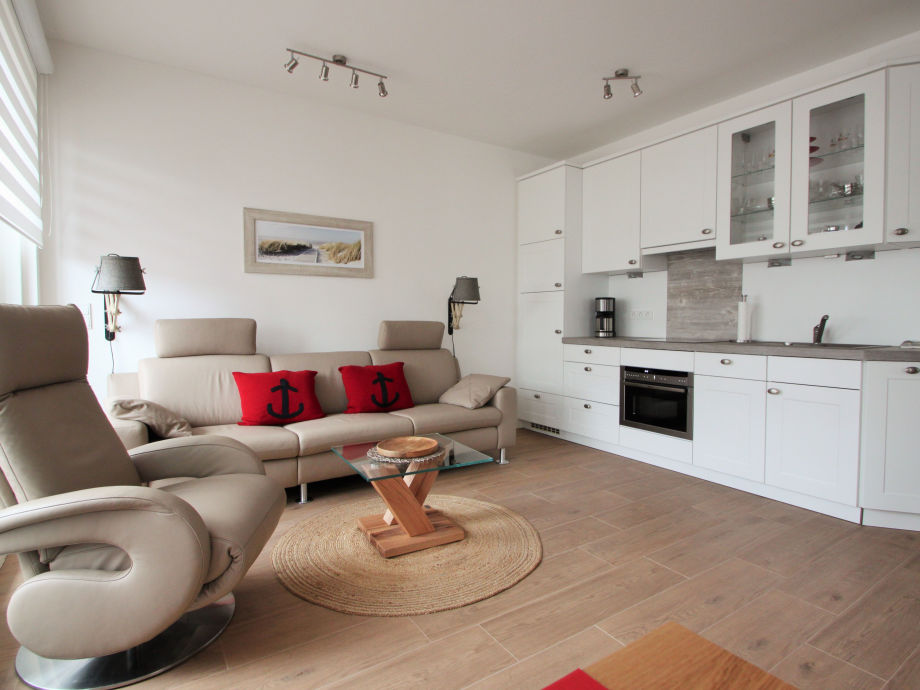 Villa Poseidon 9 - Blick in die Küche