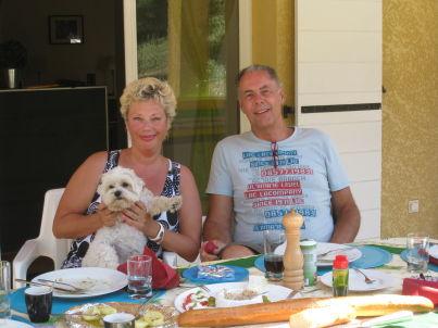Ihr Gastgeber Marijke en Henk Van den Berg