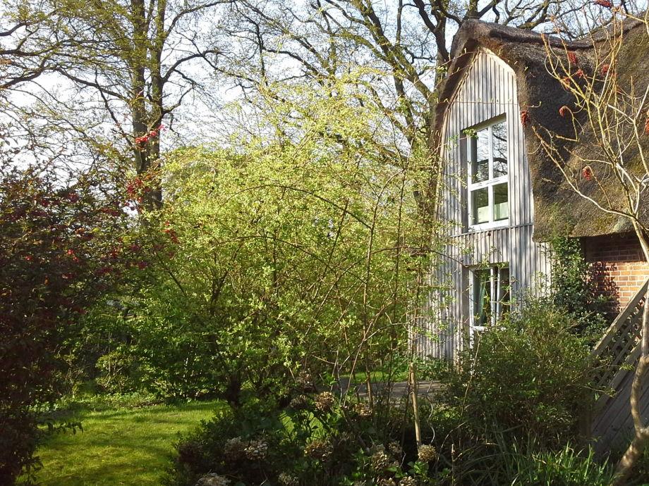 Kleine Gartenwohnung mit Terrasse und Garten