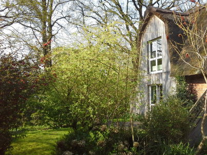 Kleine Gartenwohnung