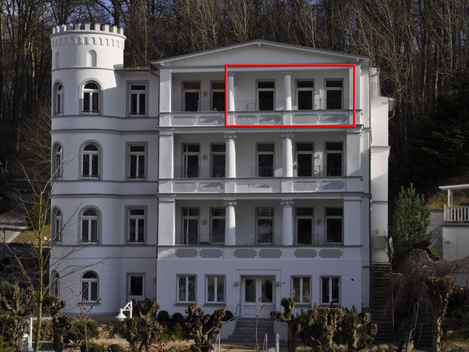 Villa Odin in Sellin