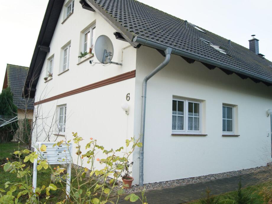Außenansicht des Mehrfamilienhauses