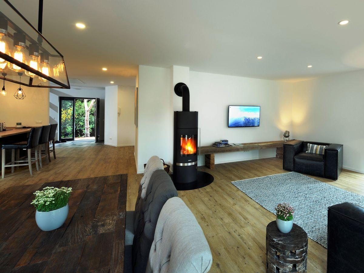 Ferienhaus White Wood Lübben Spreewald Firma BluGarden - Grobes bild wohnzimmer