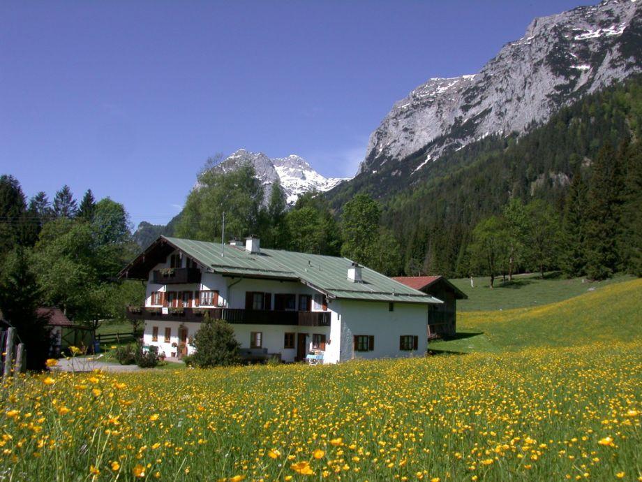 Haus Brandl in Ramsau bei Berchtesgaden mit Reiteralpe