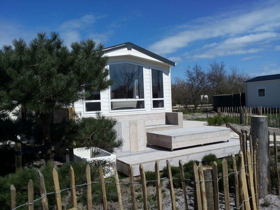 Außenaufnahme Campingplatz am Strand, Beachhouse Der Seehund