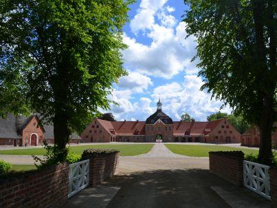 Horn auf dem Kultur Gut Hasselburg