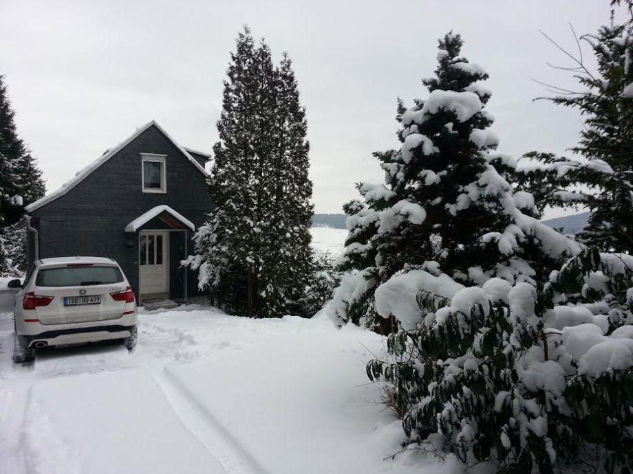 Ferienhaus Meurablick im Winter