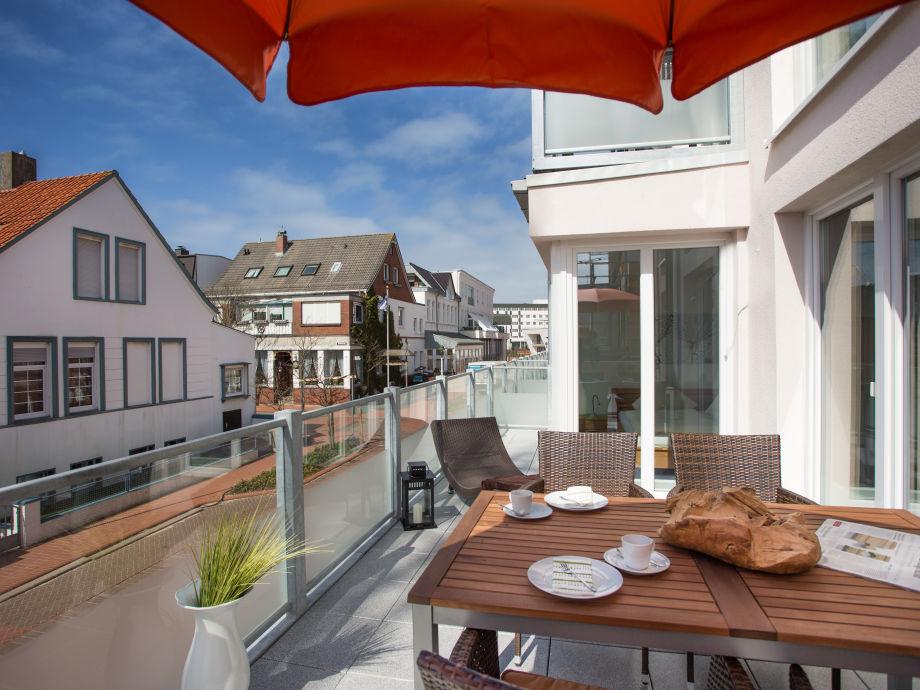 Balkon in Westlage