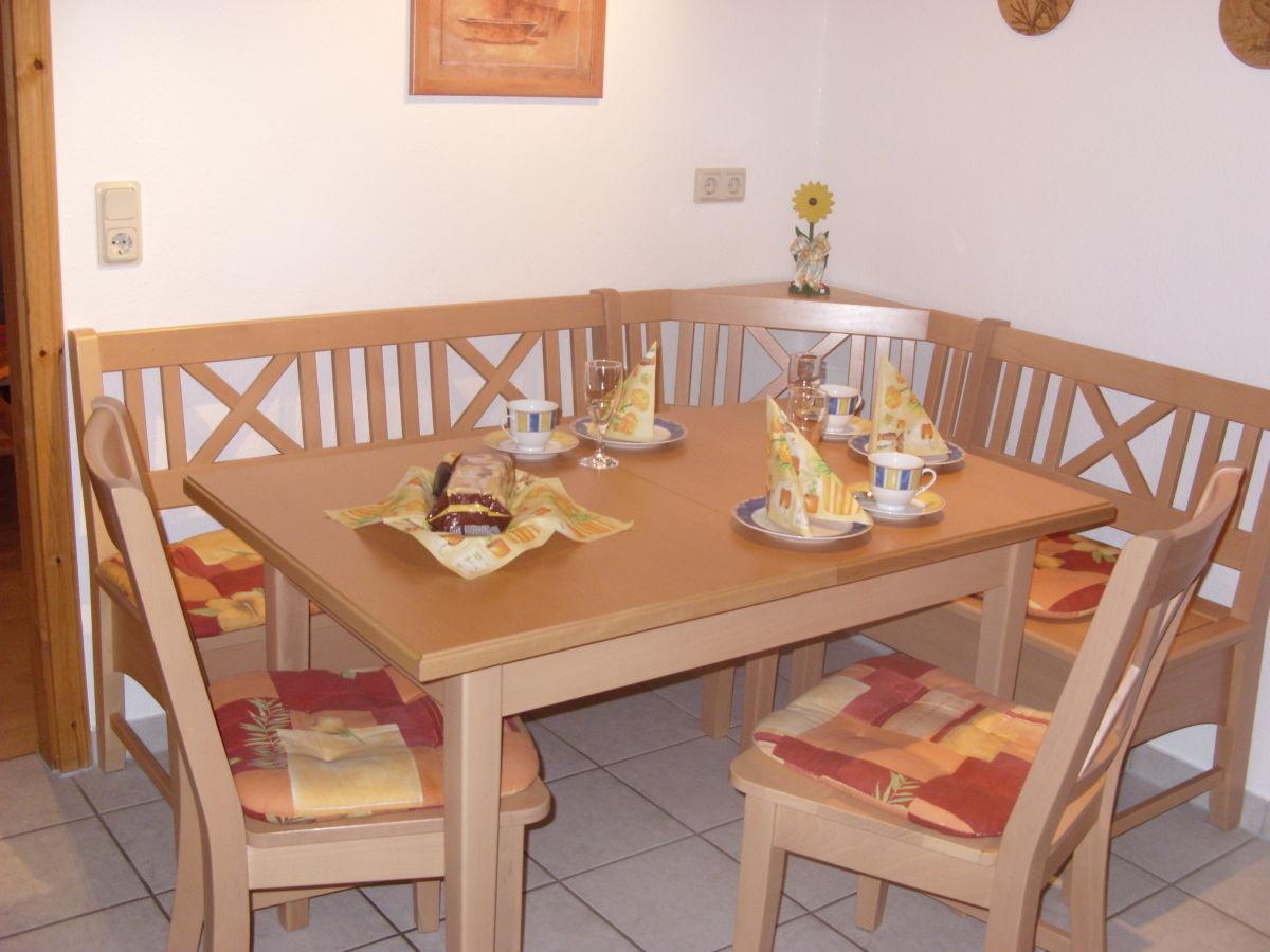 Moderne Eckbank Küche mit Eckbank Schlafzimmer 1 mit Terrasse Doppel ...