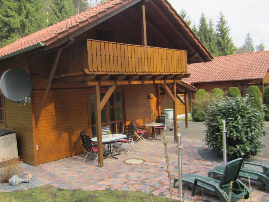 Haus Lärche mit Terrasse Schlafzimmer mit Balkone
