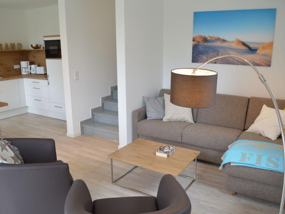 Wohnzimmer Mit Kche Und Essbereich