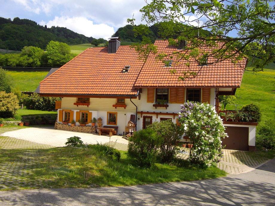 """Außenaufnahme Ferienwohnung 3 """"Schwarzwaldromantik"""" - Haus Kohlers"""
