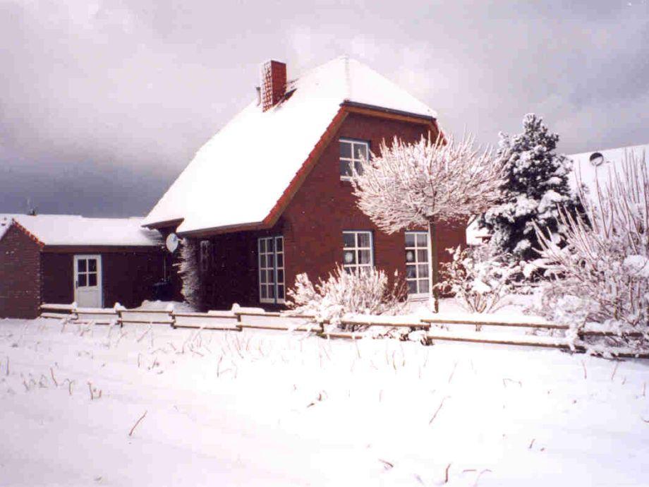 Haus Sausewind im Winter.